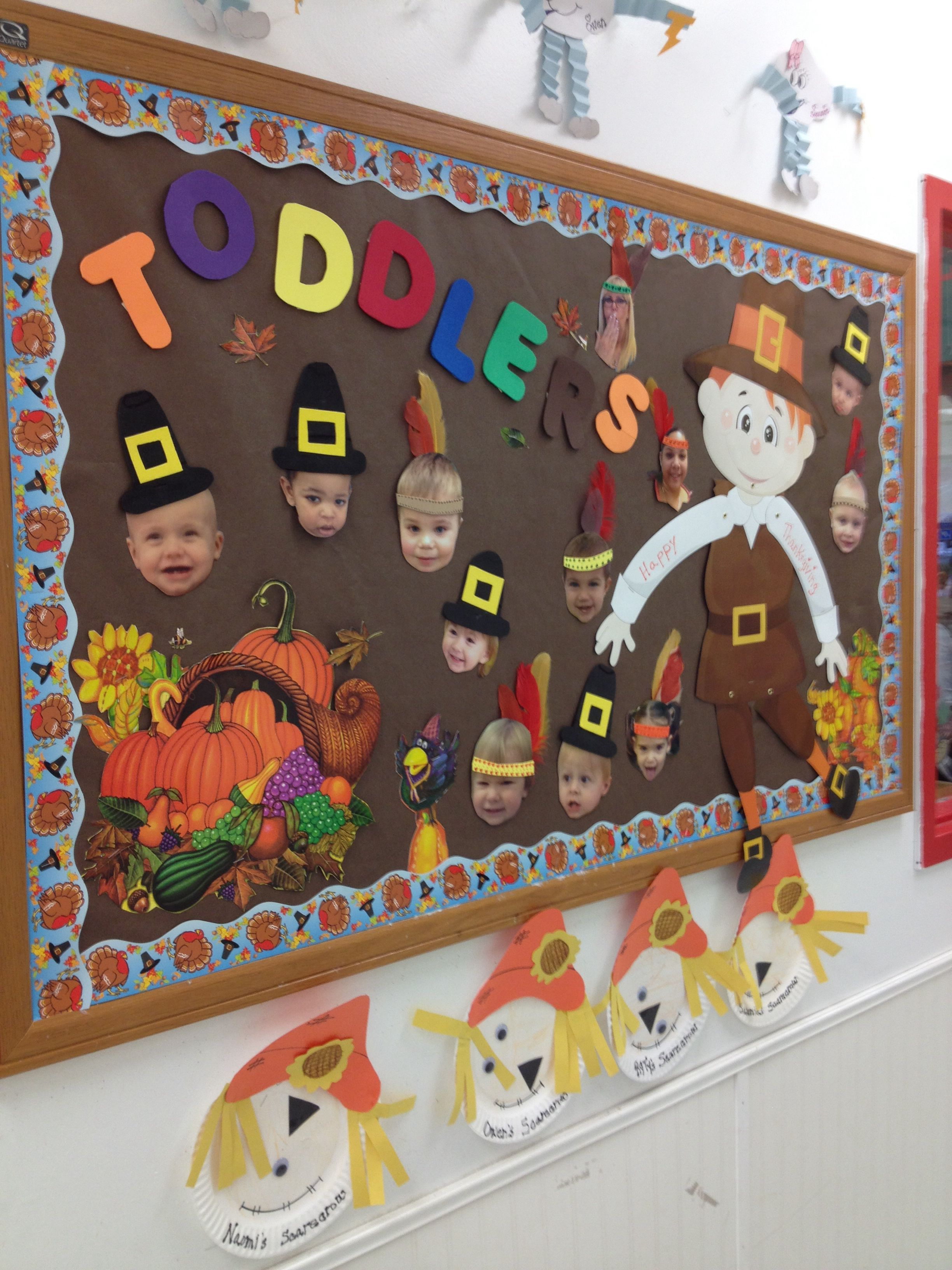 Pin By Dot Mcardle On Toddler Room Thanksgiving Preschool Bulletin Boards Daycare Crafts