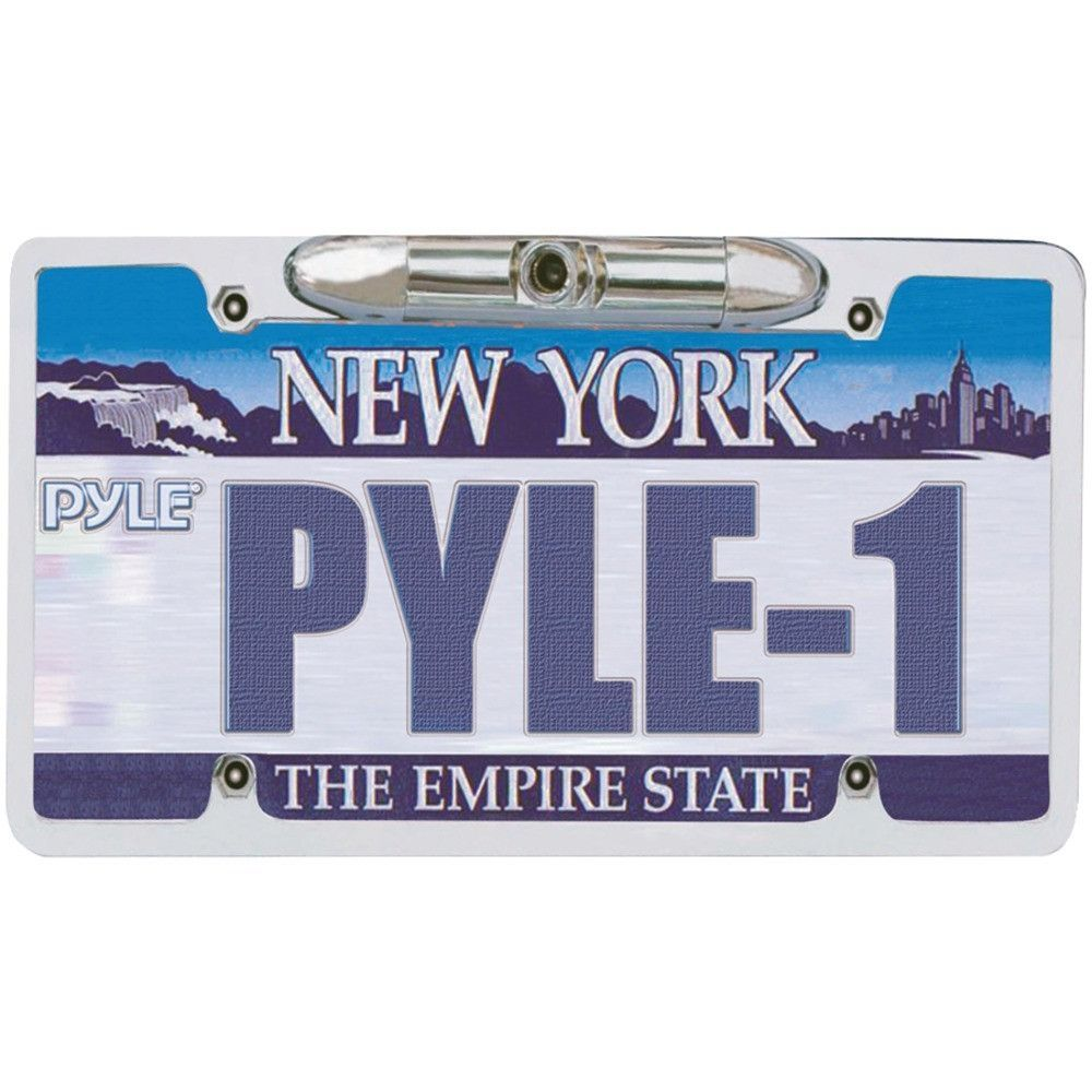 PYLE PLCM21 License Plate Backup Camera