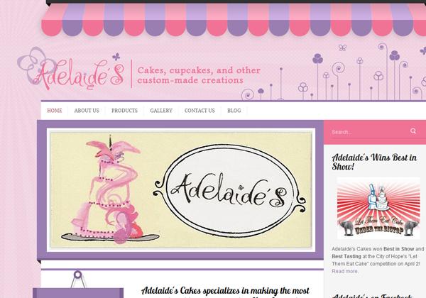 29 #Bakery and #Cake Shop Websites for Design Inspiration   Web ...