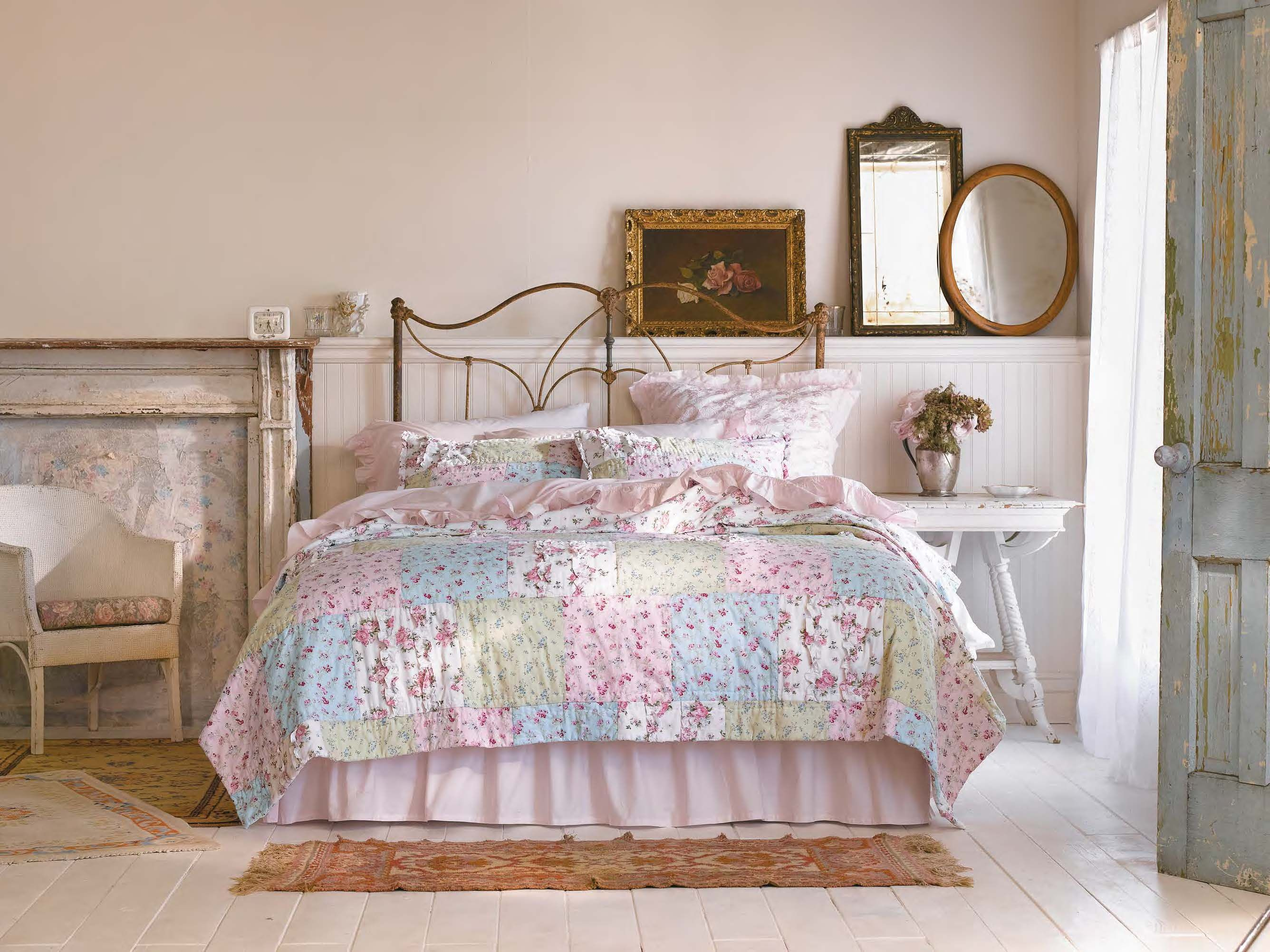Introducing our newest quilt the Simply Shabby Chic Ditsy Patchwork