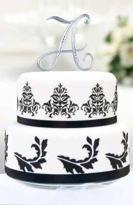 Michaels Com Wedding Department Monogram Cake Topper There Are Many Creative Ways To Personal Letter Cake Toppers Monogram Cake Toppers Beautiful Cake Designs