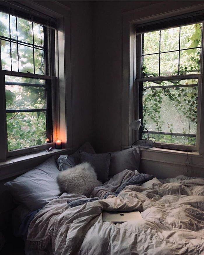 Cozy bedroom corner