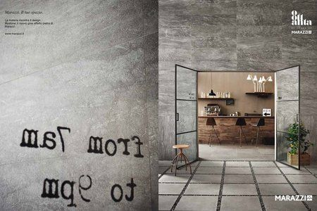 #Marazzi | #Mystone | #stoneeffect | #stonelook | #porcelaintiles | #ceramics | #bar