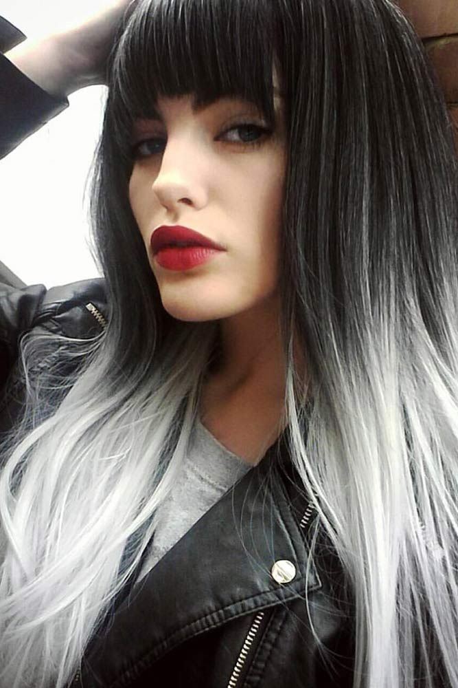 The 25 Best Grey Ambre Hair Ideas On Pinterest White