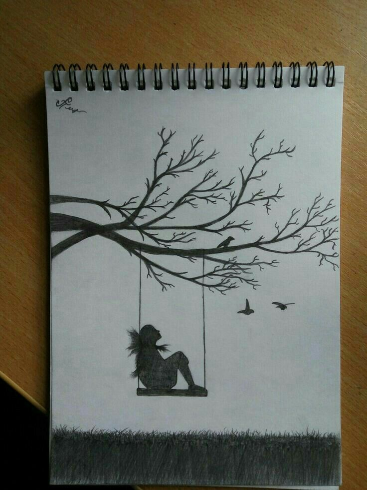 M Alone Cool Art Drawings Art Drawings Sketches Art Drawings Simple