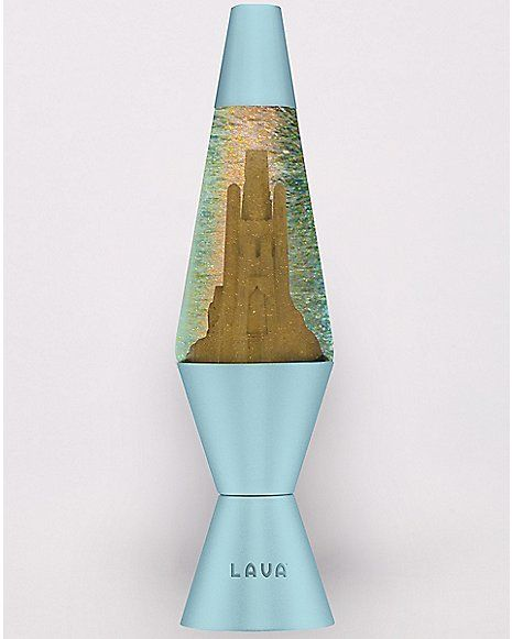 Sand Castle Lava Lamp 14 5 Inch Spencer 39 S Lava Lamp Lamp Cool Lava Lamps