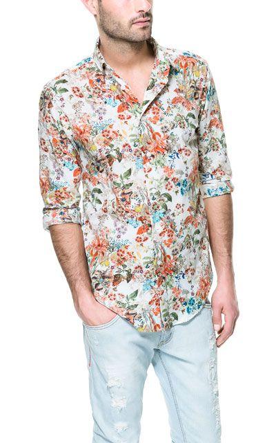 gay flower shirt