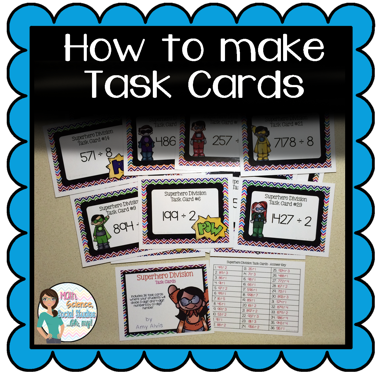 How To Make Task Cards