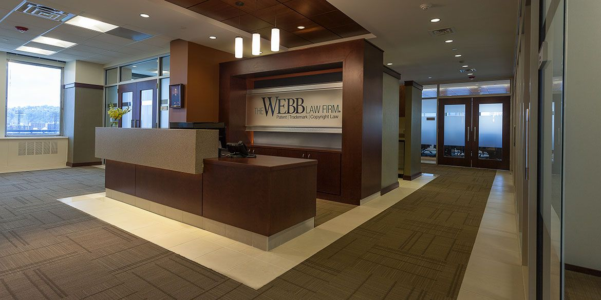 Webb law office reception 1170 585 office for Law office design ideas