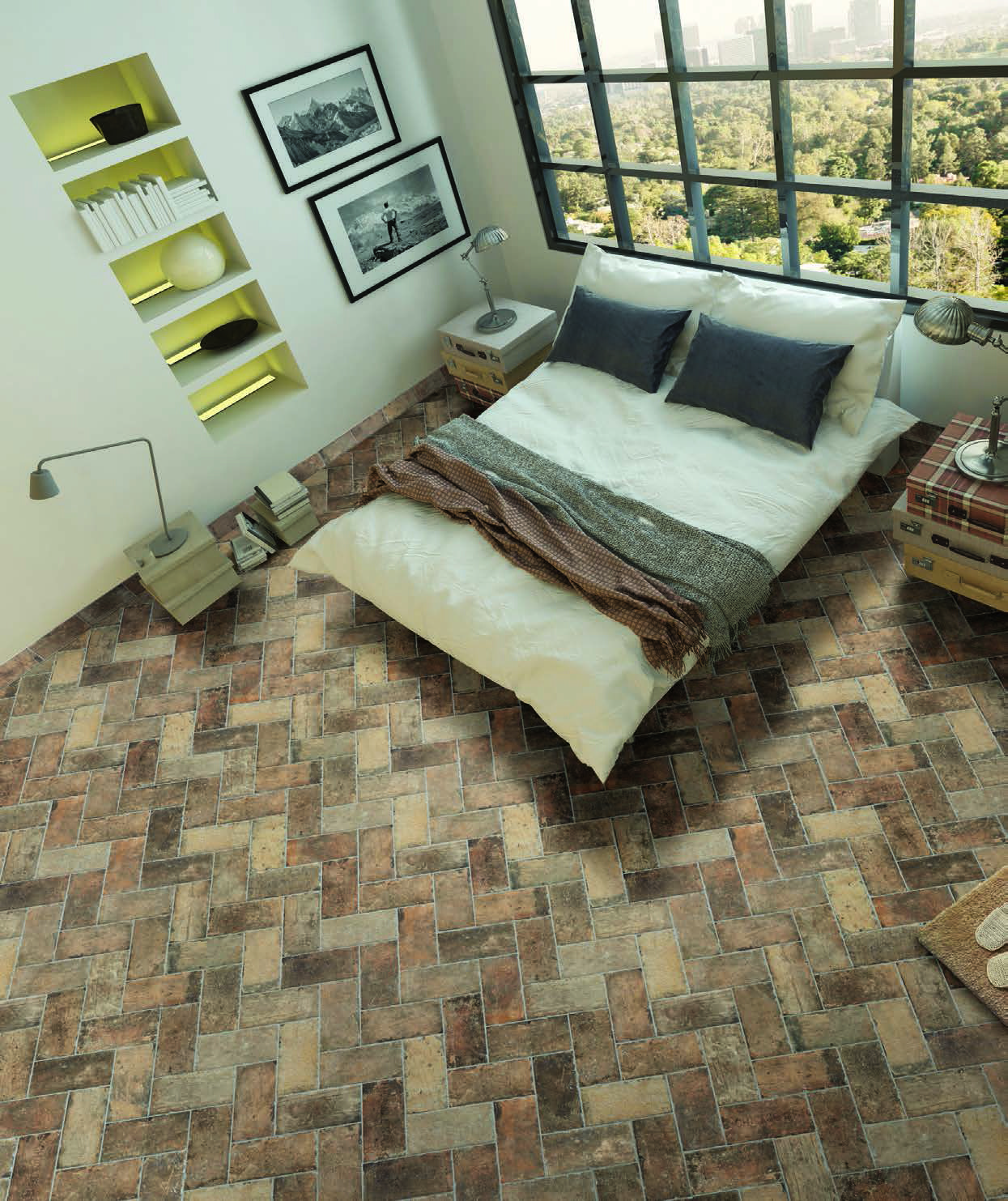 Chicago Brick State Street Serfl3010 Bedroom Tile