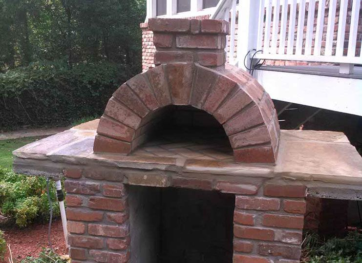 Brickwood Ovens Bundy Outdoor Pizza Oven In Georgia