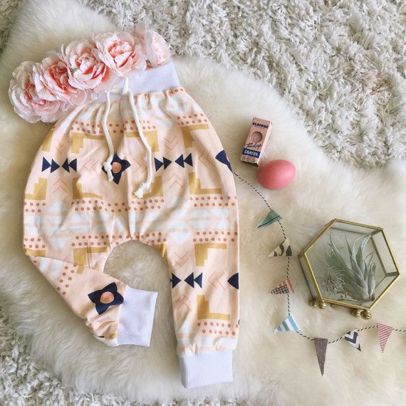 Baby Harem Pants 18-24mo. Infant Clothing Baby by MoonStoneFox