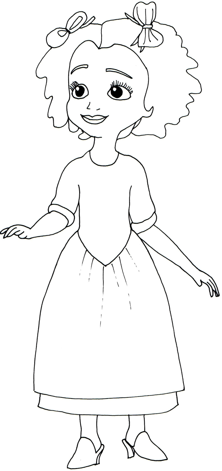 Sofia The First Coloring Pages Ruby