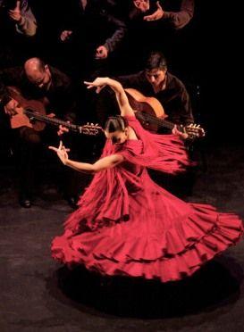 flamenco, guitar, dance