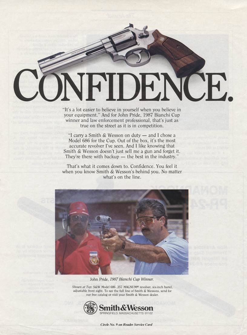 Pin by Kenny Clayton on Ads | Guns, Revolver, Smith wesson