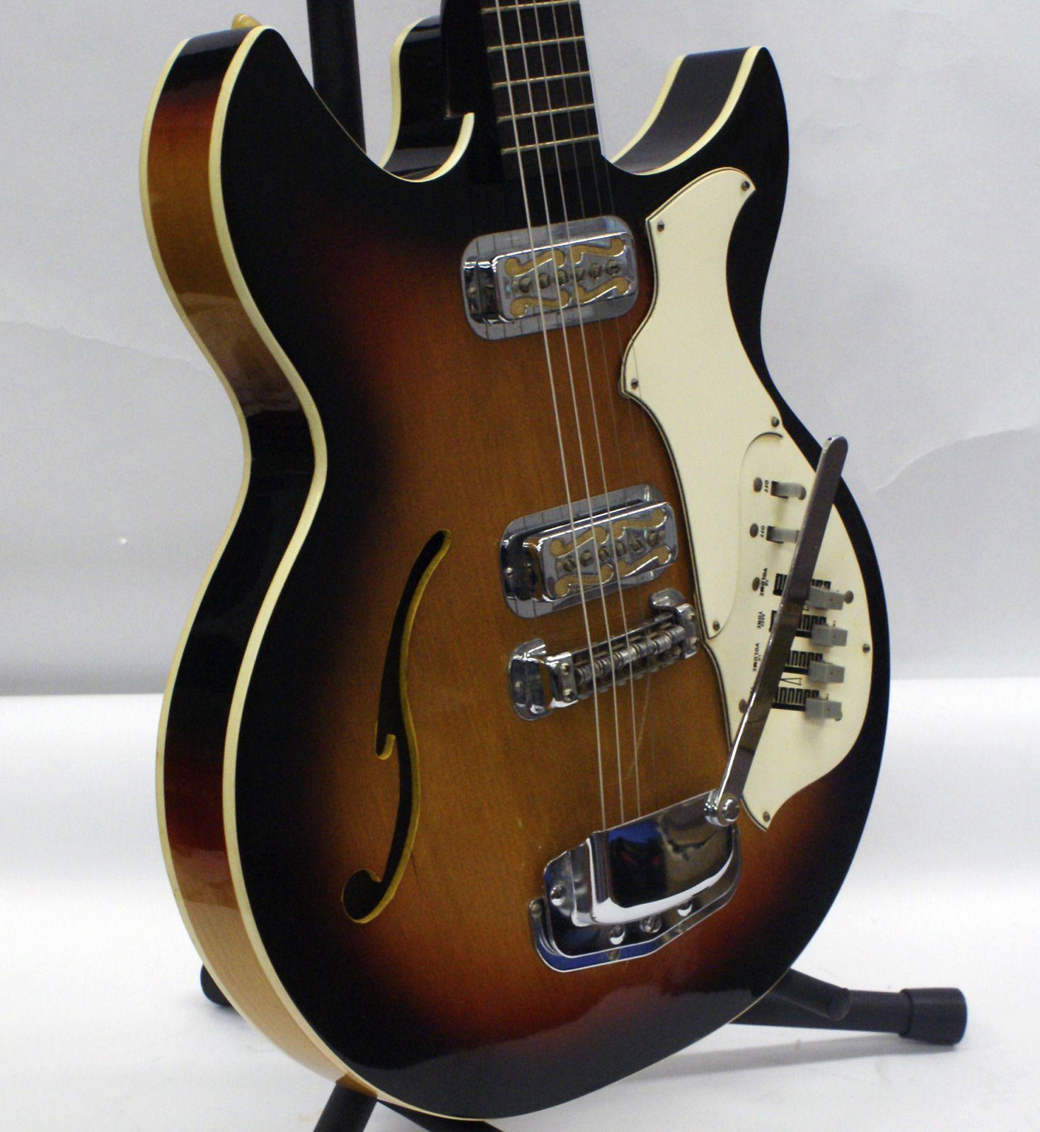 Harmony Les Paul Guitar Wiring Diagram Schemes Diagrams Vintage 68 69 H82 Electric W Dearmond Gold Foil Model History