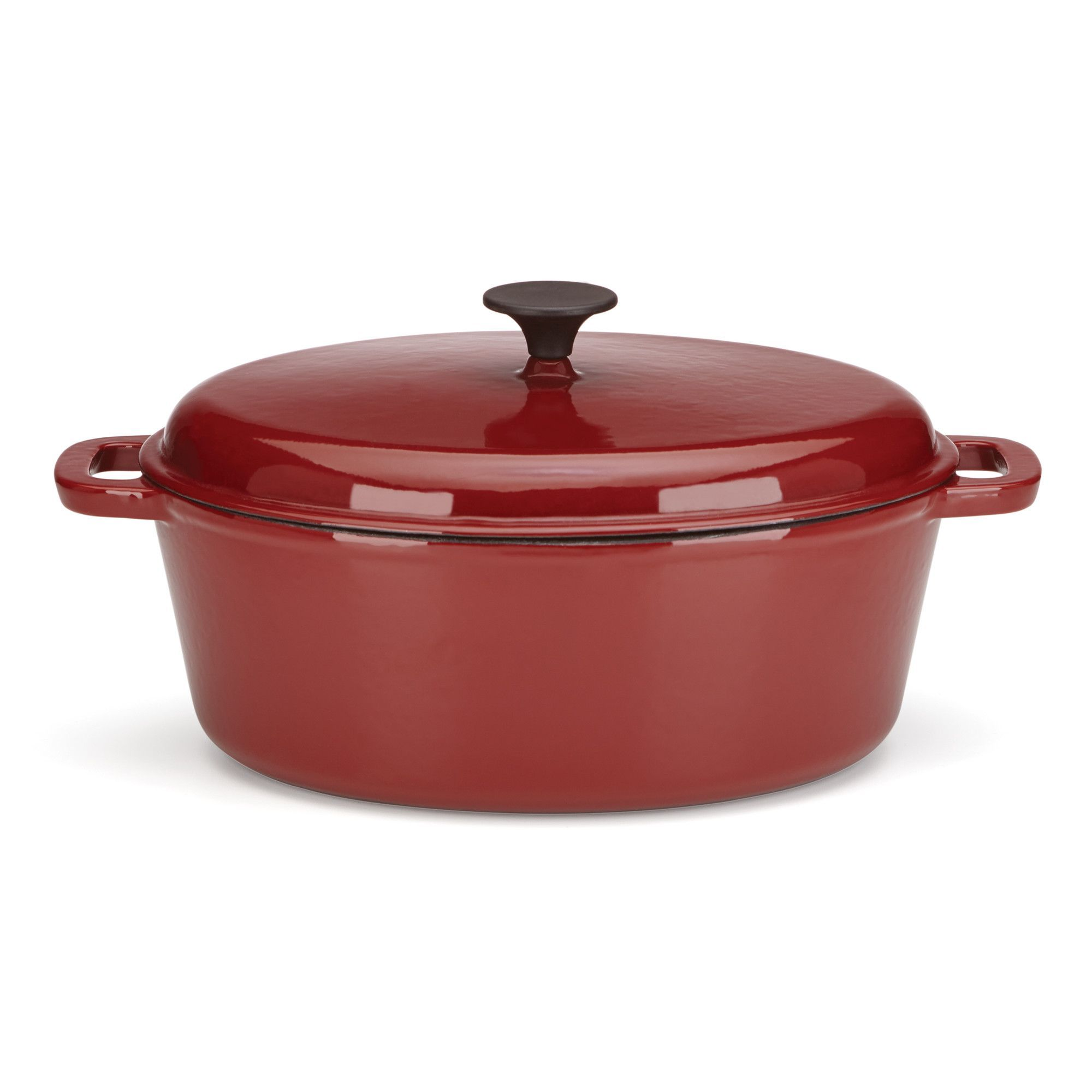 Rick Bayless 6-qt Cast Iron Oval Dutch Oven with Lid