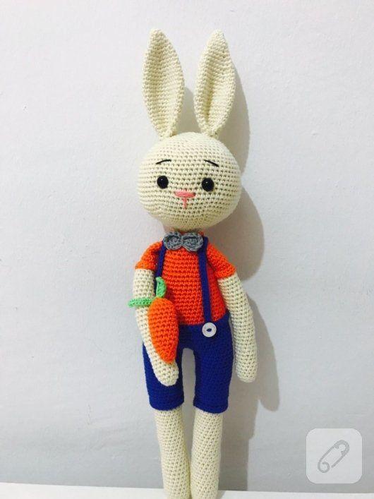 Amigurumi Tavşan Yapılışı Videolu Anlatım-Amigurumi Bunny Video ... | 707x530