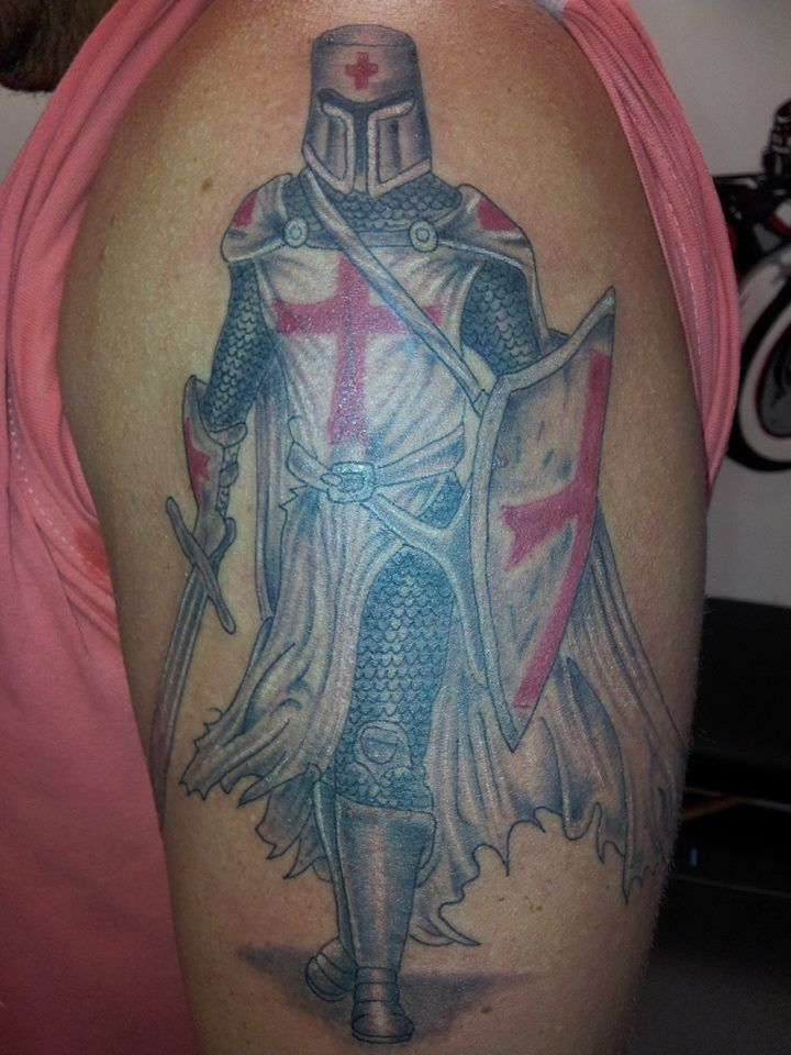 templar knight arm tattoo tattoos pinterest arm tattoo tattoo and future tattoos. Black Bedroom Furniture Sets. Home Design Ideas