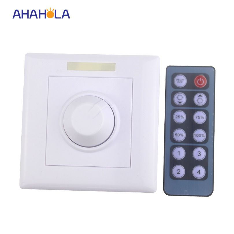Ir Wireless Remote Control Led Dimmer 220v Switch Single Color Lamp Input 90 230v Dimmer Controller Output 0 10v Pwm Signal Led Dimmer Remote Control Led