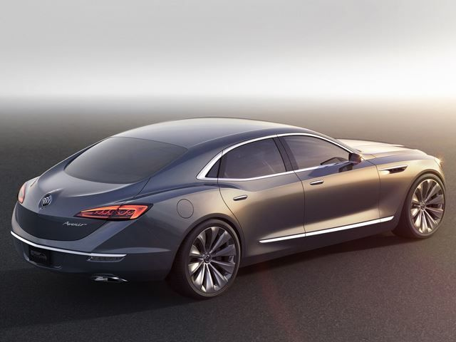 The Gorgeous Buick Avenir Concept Is The Flagship Sedan We Want | Buick  avenir, Buick, Concept cars