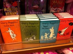 Mary Poppins Books I loved reading these.  Such good memories.