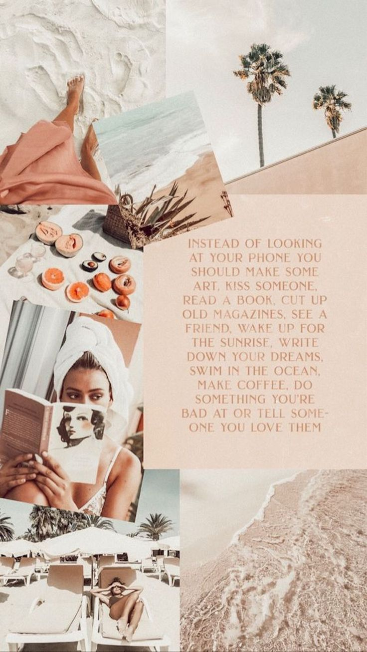 26 Fashion Collage Backgrounds For Your Phone