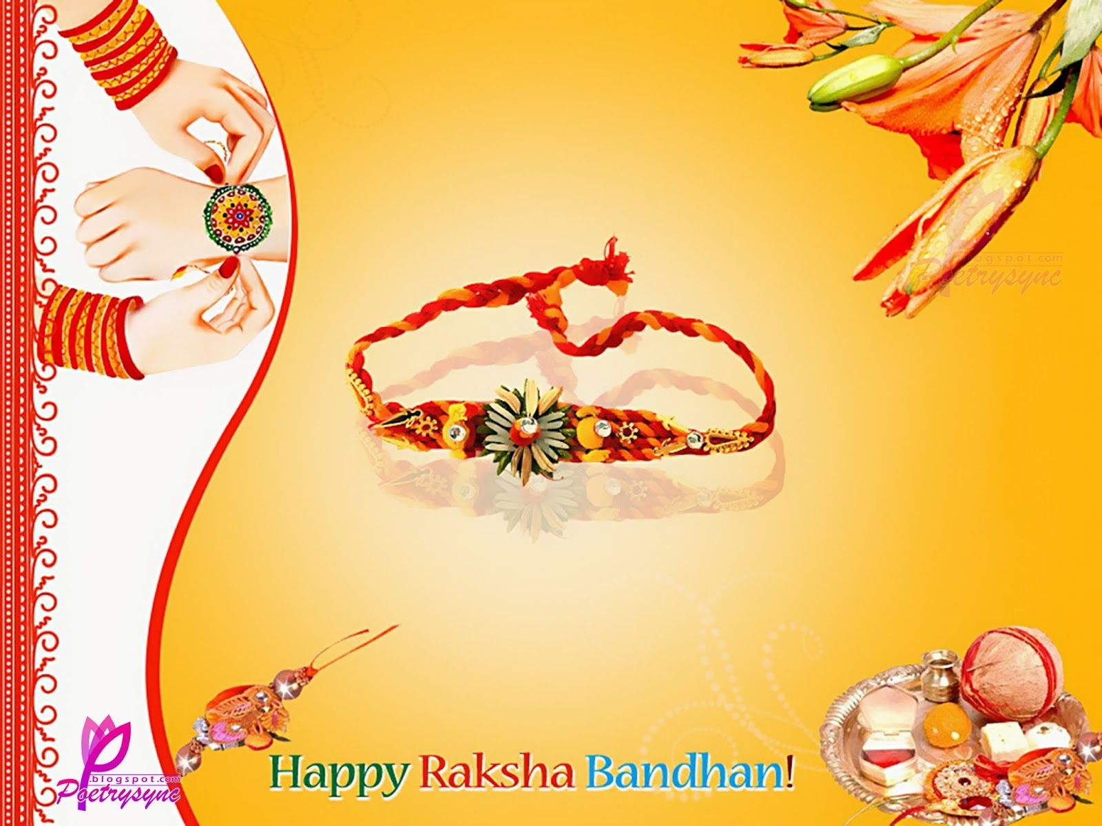 Raksha Bandhan Raksha Bandhan Cards Images For Brother With Quotes