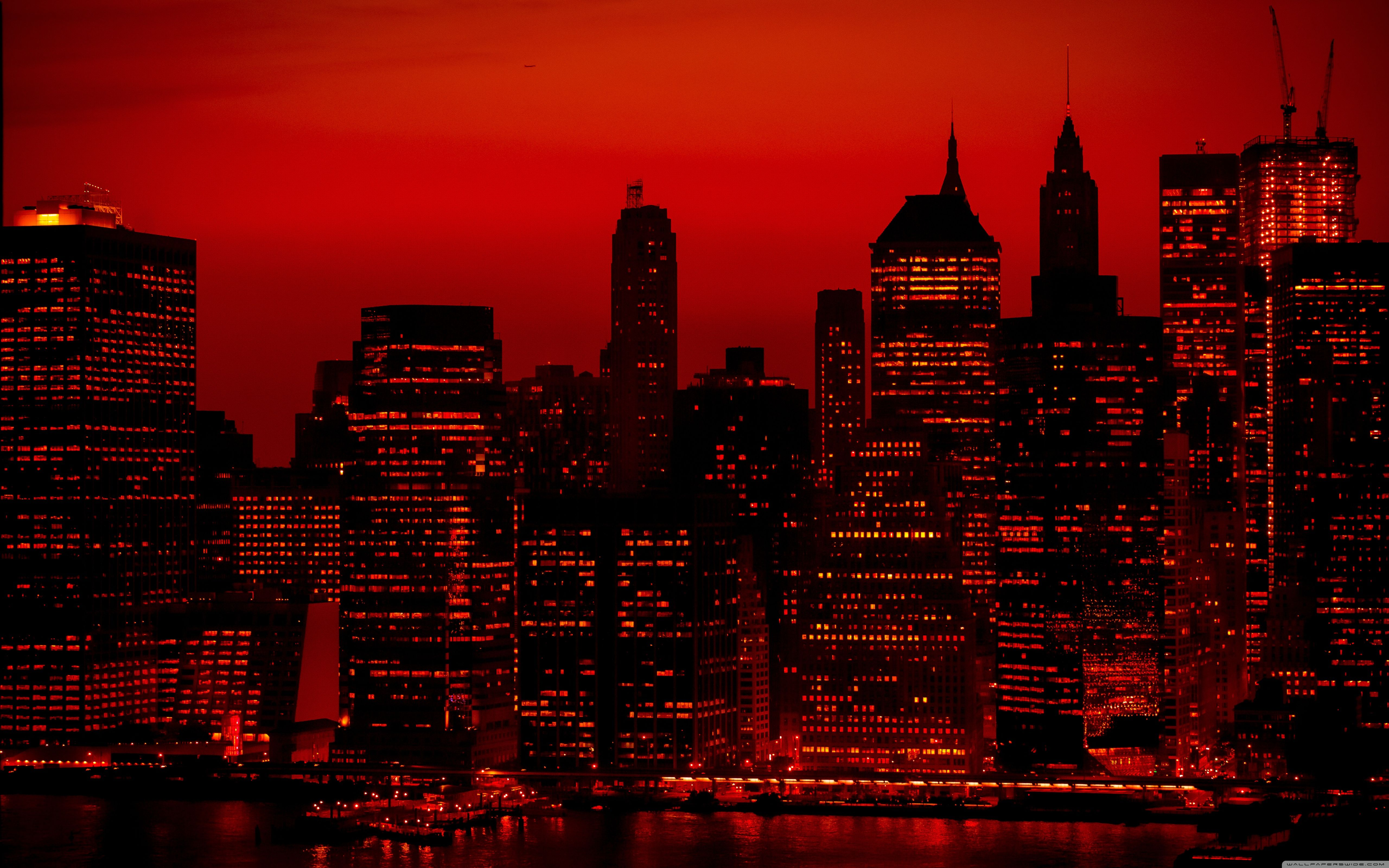 Customize your desktop, mobile phone and tablet with our wide variety of cool. red city - Google Search   Red sky, Sky aesthetic, City ...