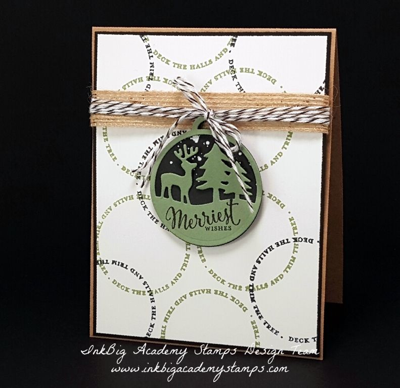 Stampin'Up! Merriest Wishes Stamp Set, Merry Tags Framelits Dies, Christmas, DIY, papercrafts