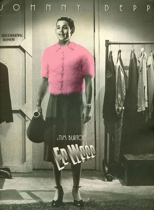 "Tim Burton's ""Ed Wood"" Poster MM"