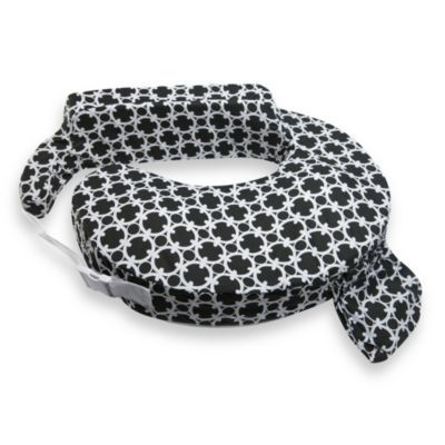 My Brest Friend 174 Nursing Pillow In Black And White