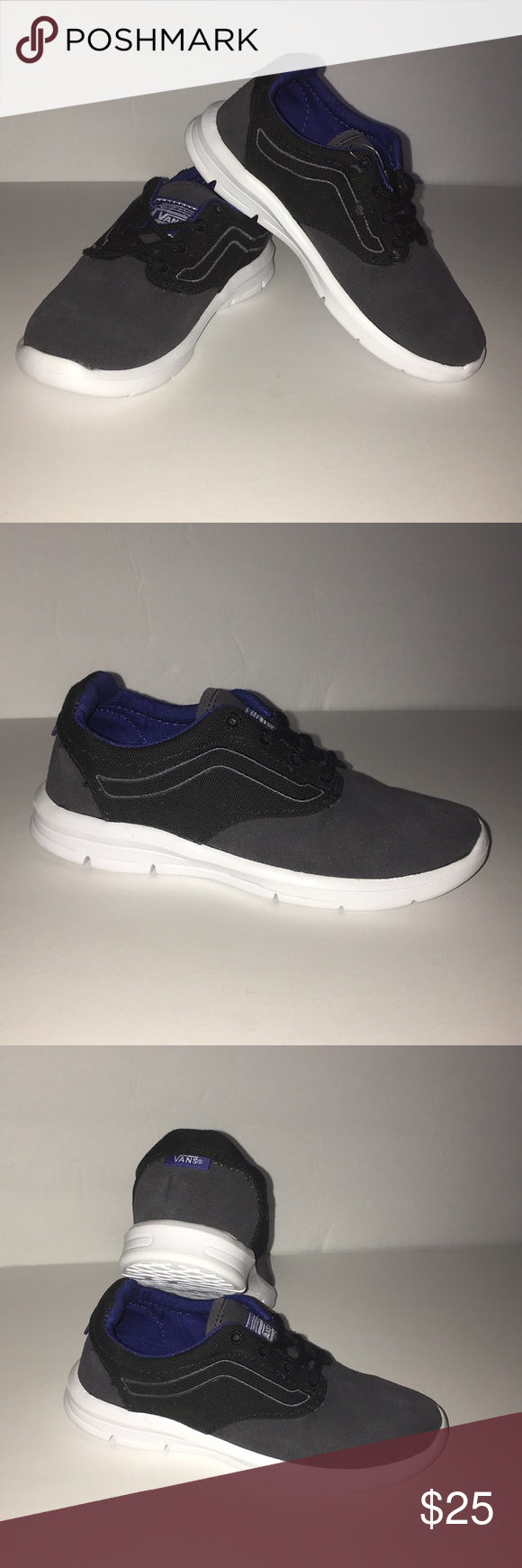 8416359098f8 Vans Iso 1.5 (Pop) NWOT Vans Iso 1.5 (Pop) Black Sodalite Blue Size 11.0  Kids Vans Shoes Sneakers