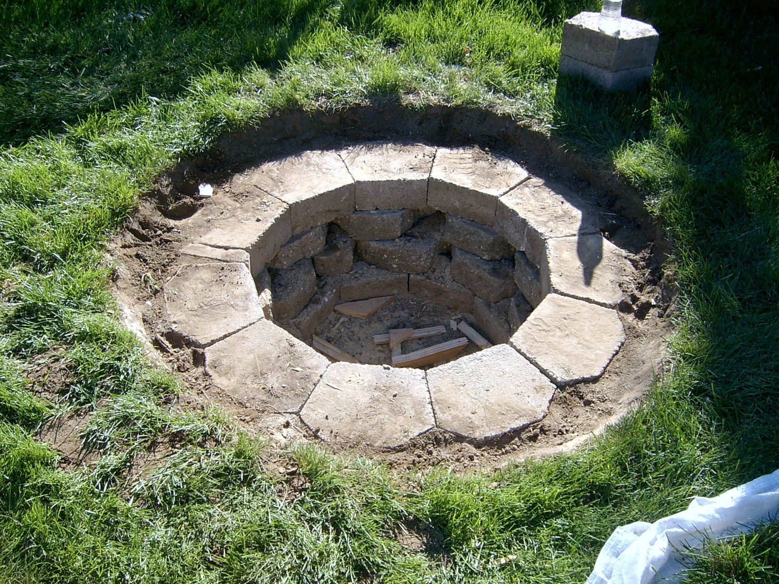 In Ground Fire Pit With Lid Decor