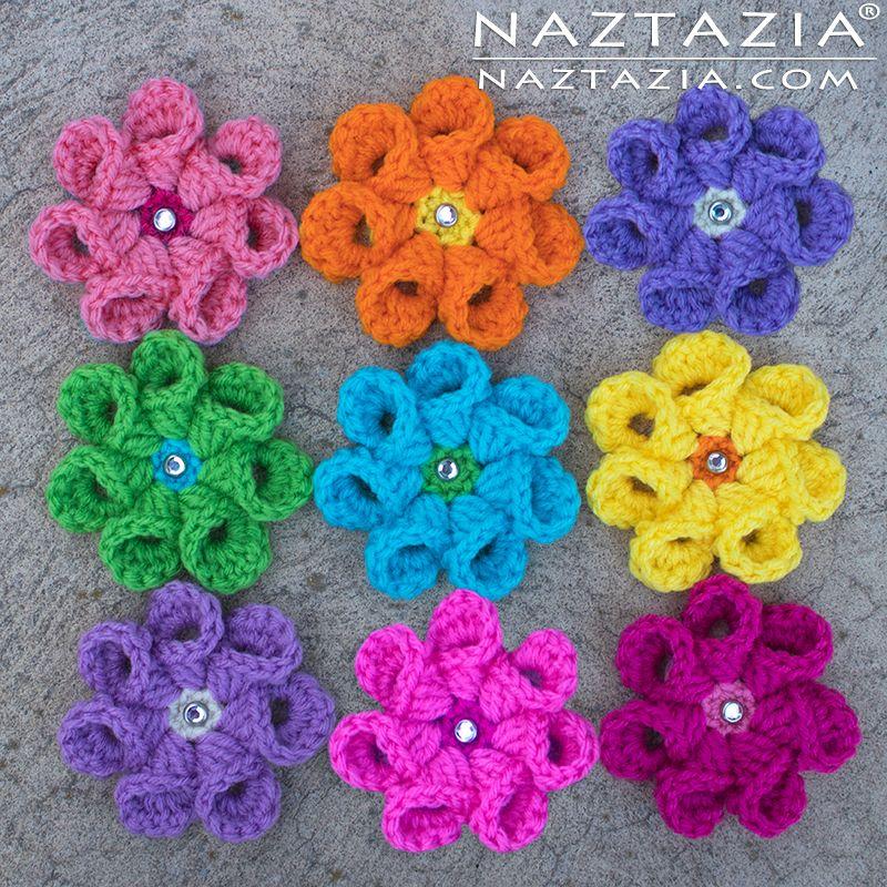 Crochet Bell Petal Flower Diy Free Pattern And Youtube Tutorial
