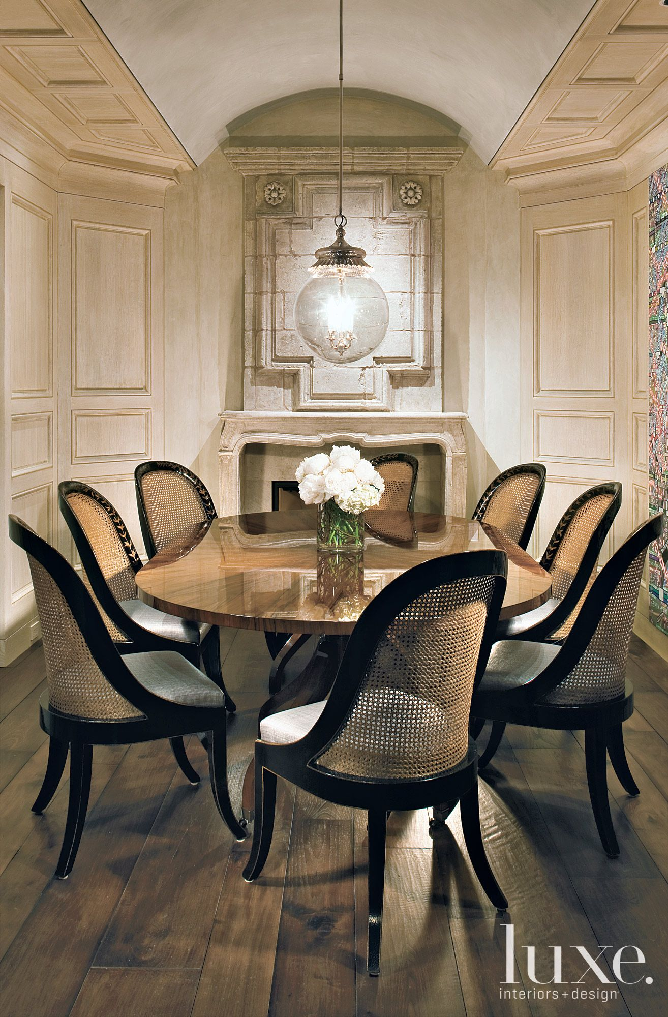 Excellent Stunning Dining Room Love The Architectural Details The Gmtry Best Dining Table And Chair Ideas Images Gmtryco