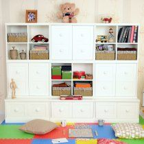Nice Wall Unit To Hide All My S Clutter Kid Toy Storagestorage