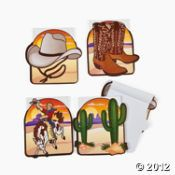 Western Note Pad (Party Favor)