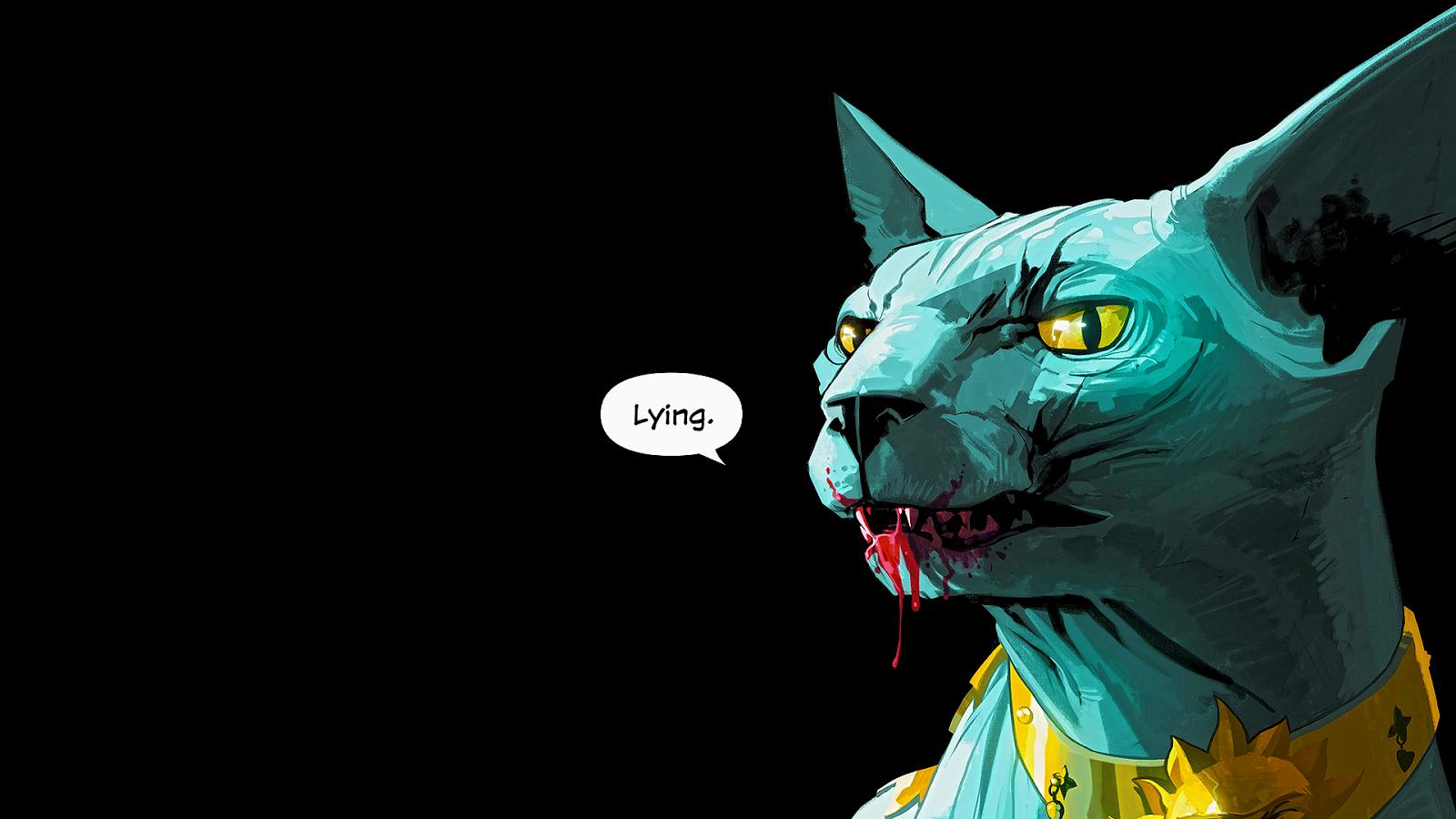 Lying Cat Saga Comic This Is Fine Dog Graphic Novel