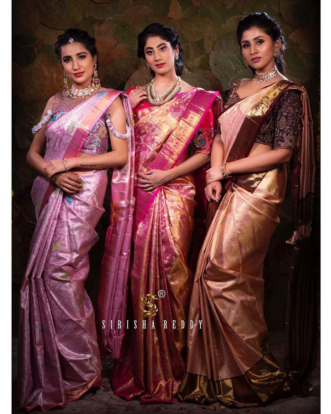Photo of Latest Pastel Kanjeevaram Wedding Saree Designs for 2019