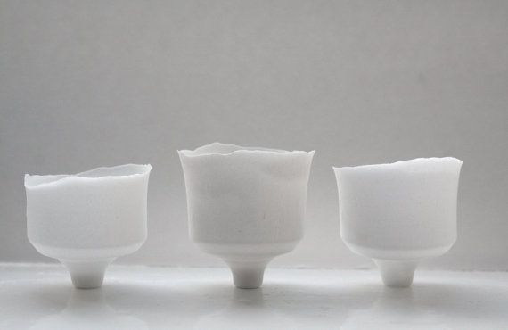 Japanese inspired small ornamental cup handmade by madebymanos, on Etsy