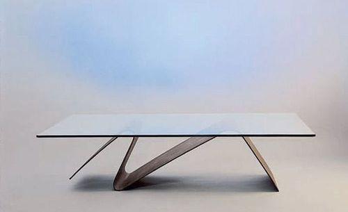 Le Salon Virtuel De L Architecture Table Basse Contemporaine Mobilier Geometrique Salle A Manger Verre