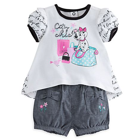 101 Dalmatians Bloomer Set For Baby Disney Store Disney Baby Clothes Toddler Girl Outfits Baby Clothes
