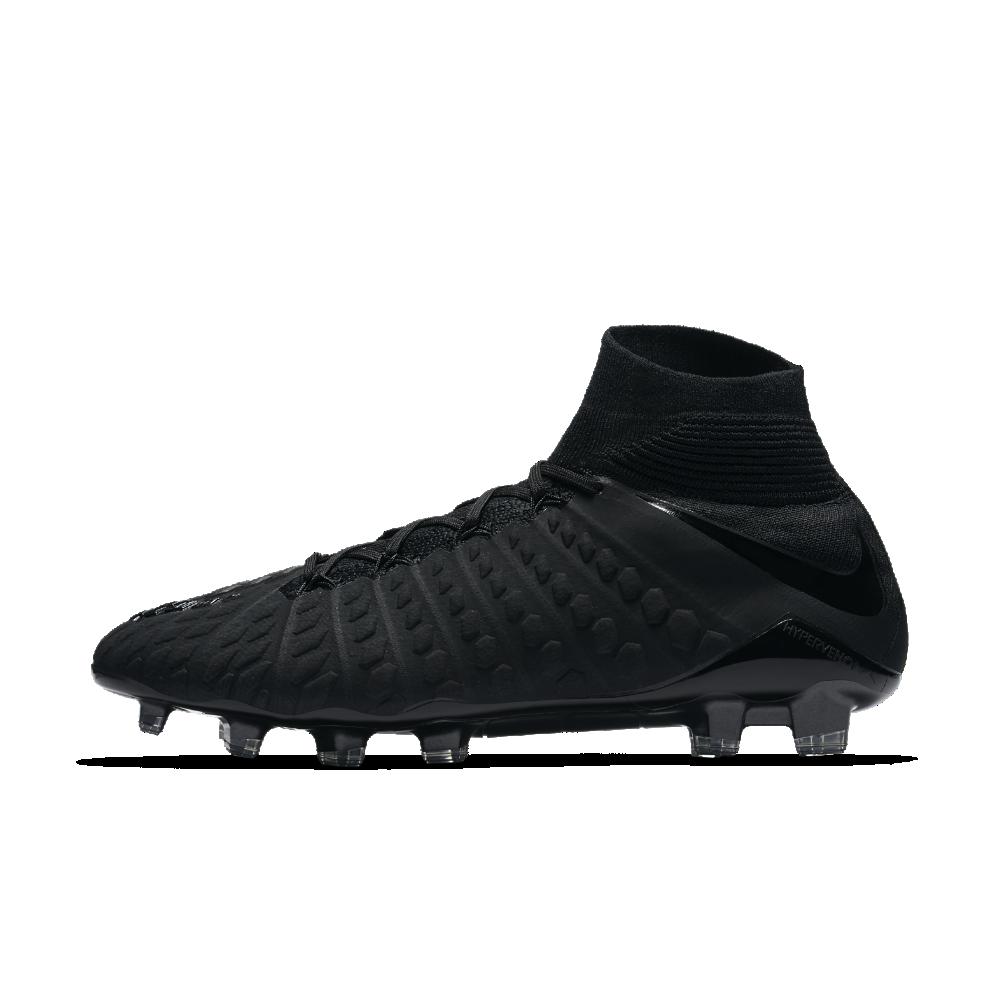 05dcfdb873c7c Nike Hypervenom Phantom 3 DF Firm-Ground Soccer Cleats Size 10.5 (Black)