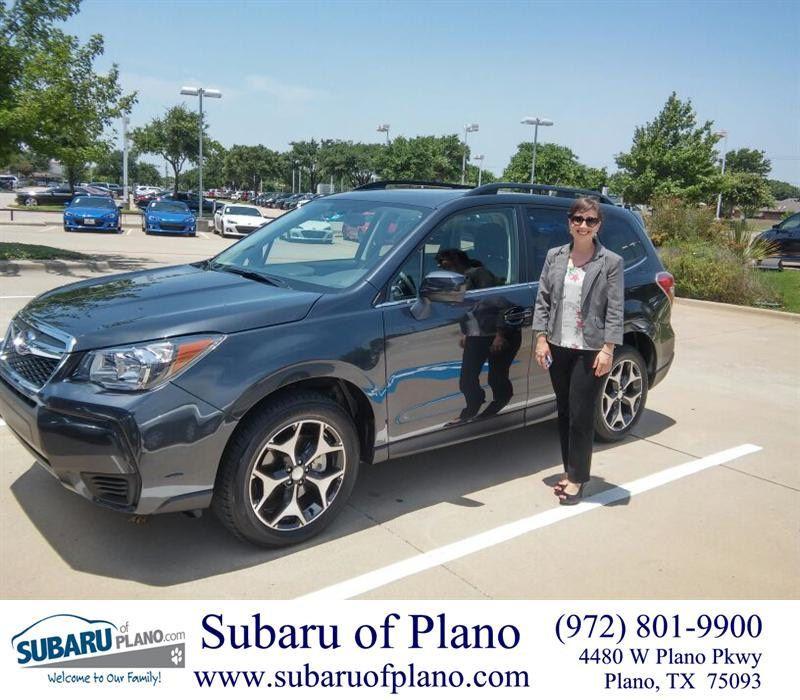 Congratulations To Lauren Medoff On Your Subaru Forester From Daniel Guerrero At Subaru Of Plano Newcar Subaru Happy Anniversary New Cars