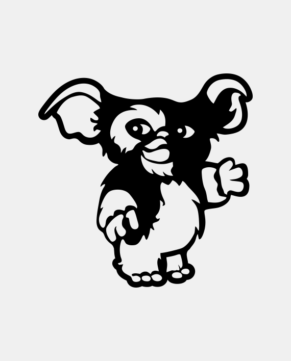 Pegatina Gizmo Gremlins En 2019 Disney Gremlins Pegatinas Y