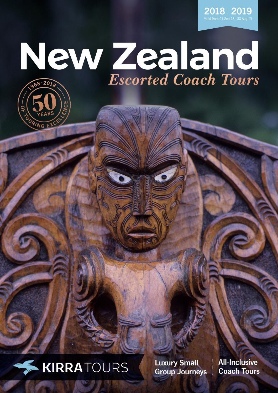 New Zealand Escorted Coach Tours 2018-2019 (NZD)   Coach ...