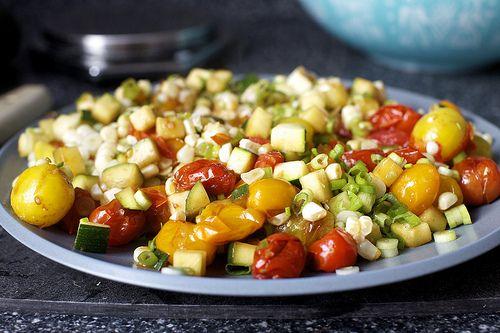 Burst Tomato Galette With Corn And Zucchini Smitten Kitchen