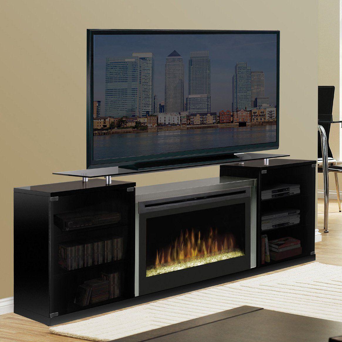 Dimplex Marana Black Entertainment Center Electric Fireplace