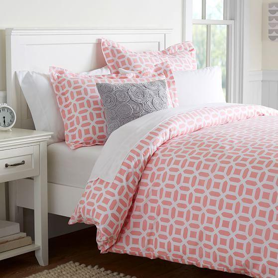 Peyton Duvet Cover Sham Dorm Room Ideas Girls Bedroom